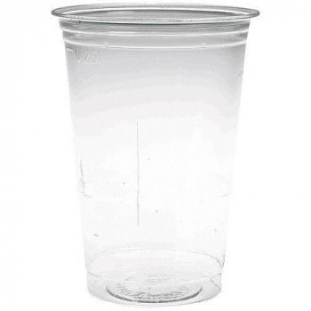 Gobelet plastique PS transparent 25/30 cl