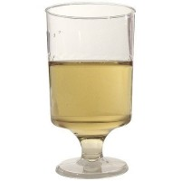 Verre à pied PS transparent 10 cl